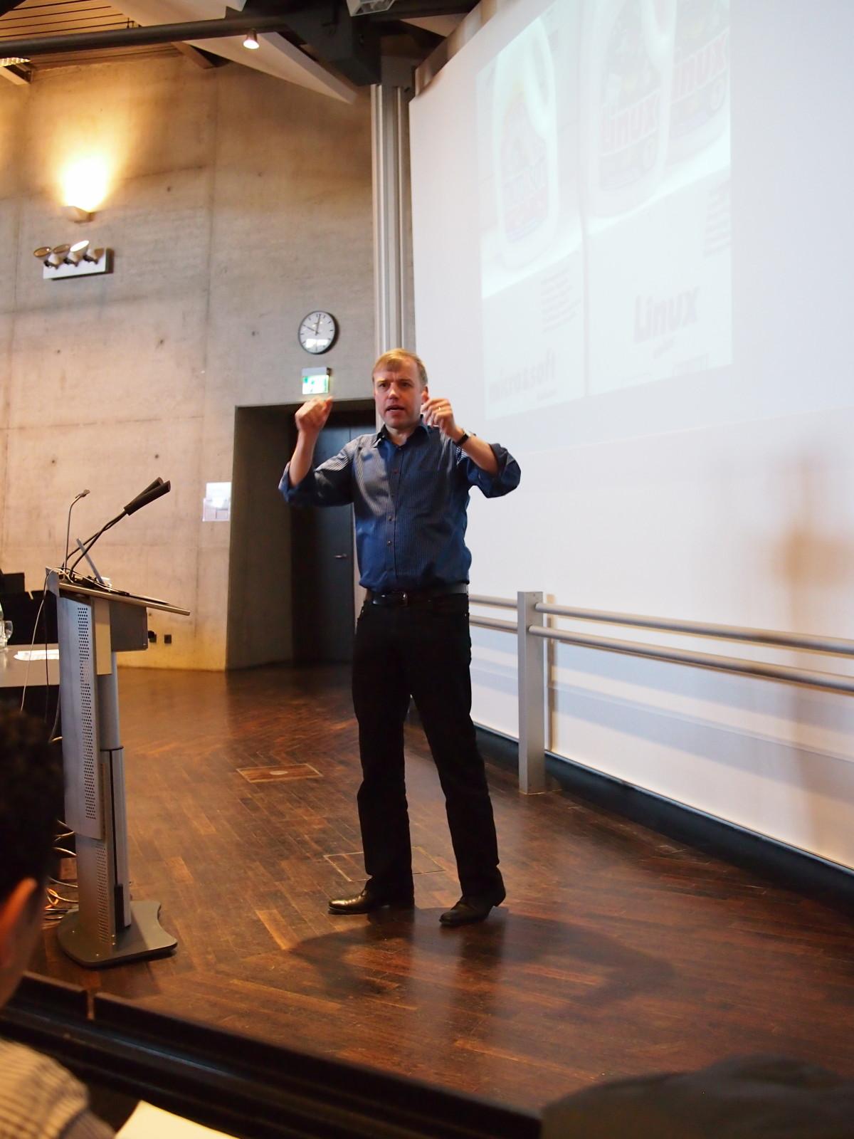 Keynote FFG 2012: Open Source und der Stress von Johannes Loxen