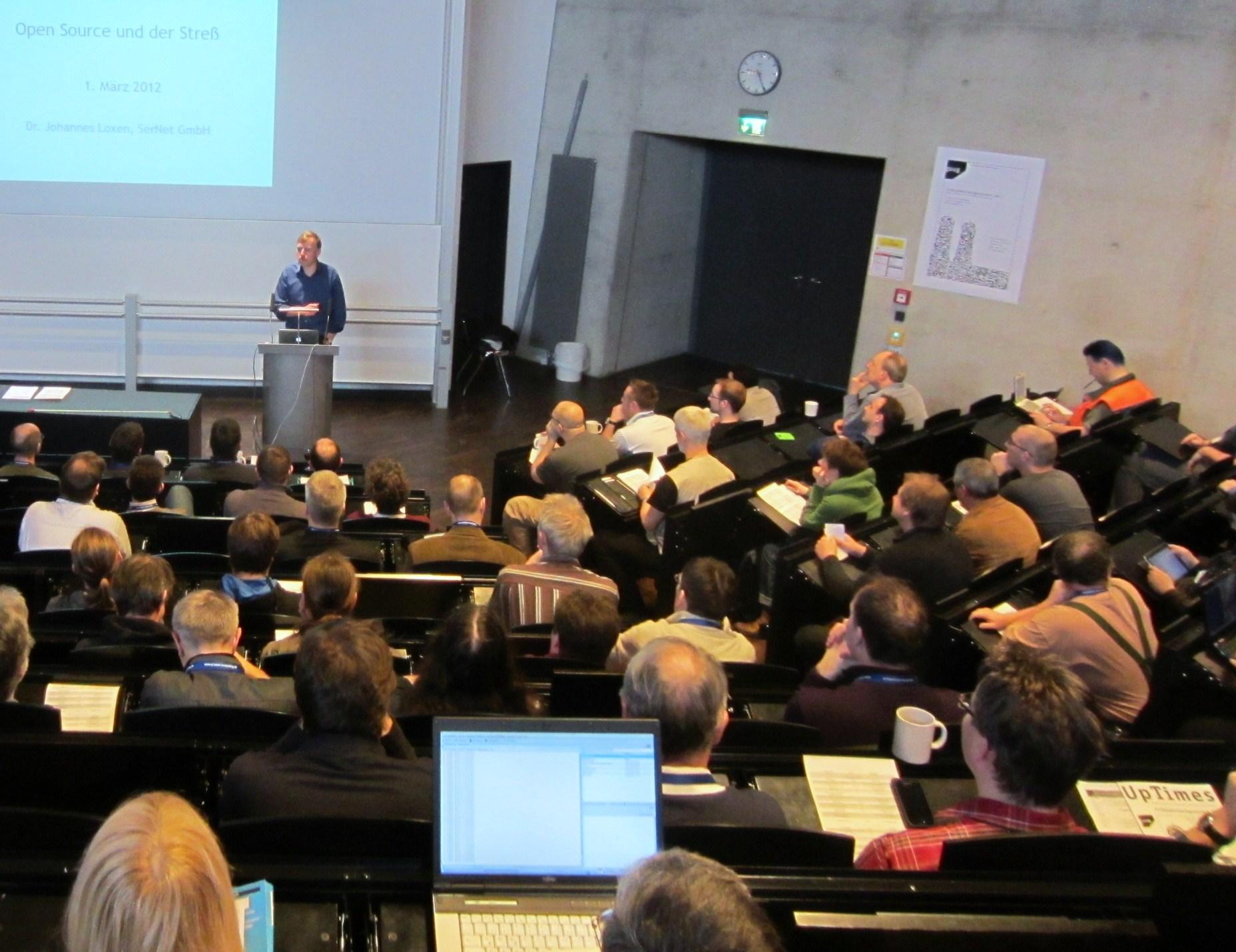 Johannes Loxen, Keynote FFG2012