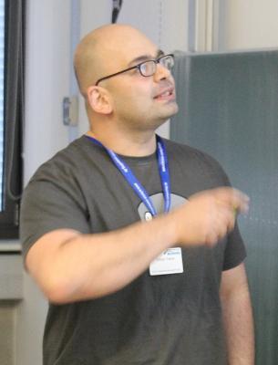 Erkan Yanar im vergangenem Jahr beim FFG in München